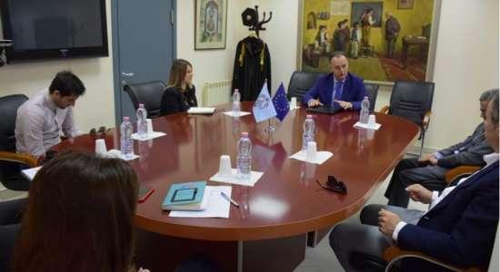"""Vizita në kuadër të ri-akreditimit institucional të Universitetit të Elbasanit """"Aleksandër Xhuvani"""""""